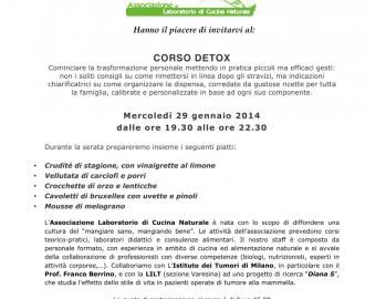 Corso detox