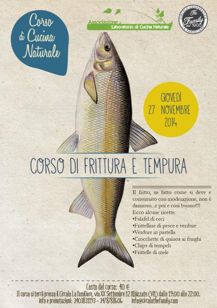 Eventi Albizzate: corso di frittura e tempura 27 nov 2014